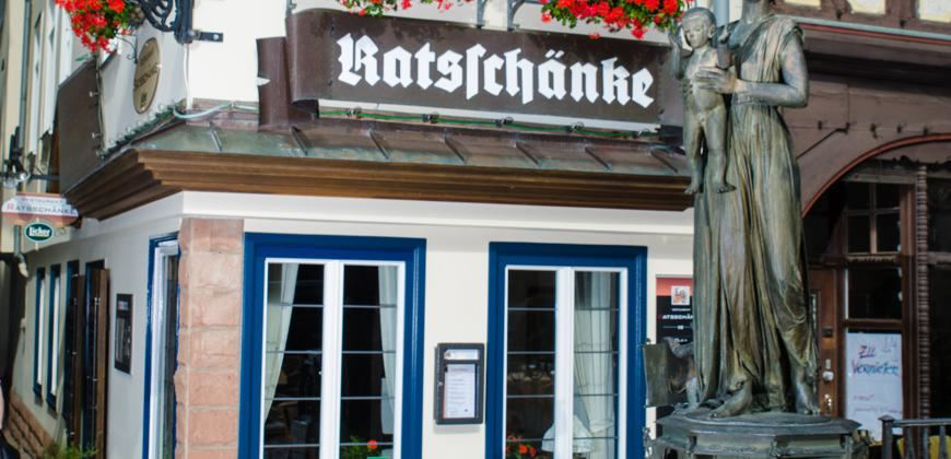 Restaurant Ratsschänke Marburg - direkt am Marktplatz